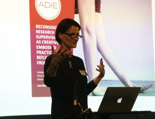 Supervision as Creative Embodied Practice by Vida Midgelow | Middlesex University